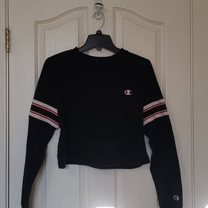 Champion cropped sweatshirt sz S